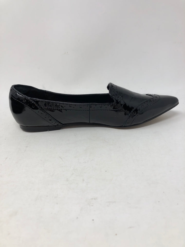 ISOLA Women Size 6 Black Patent Flats