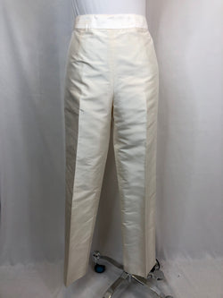 FLORES&FLORES Women Size 2 off white Pants