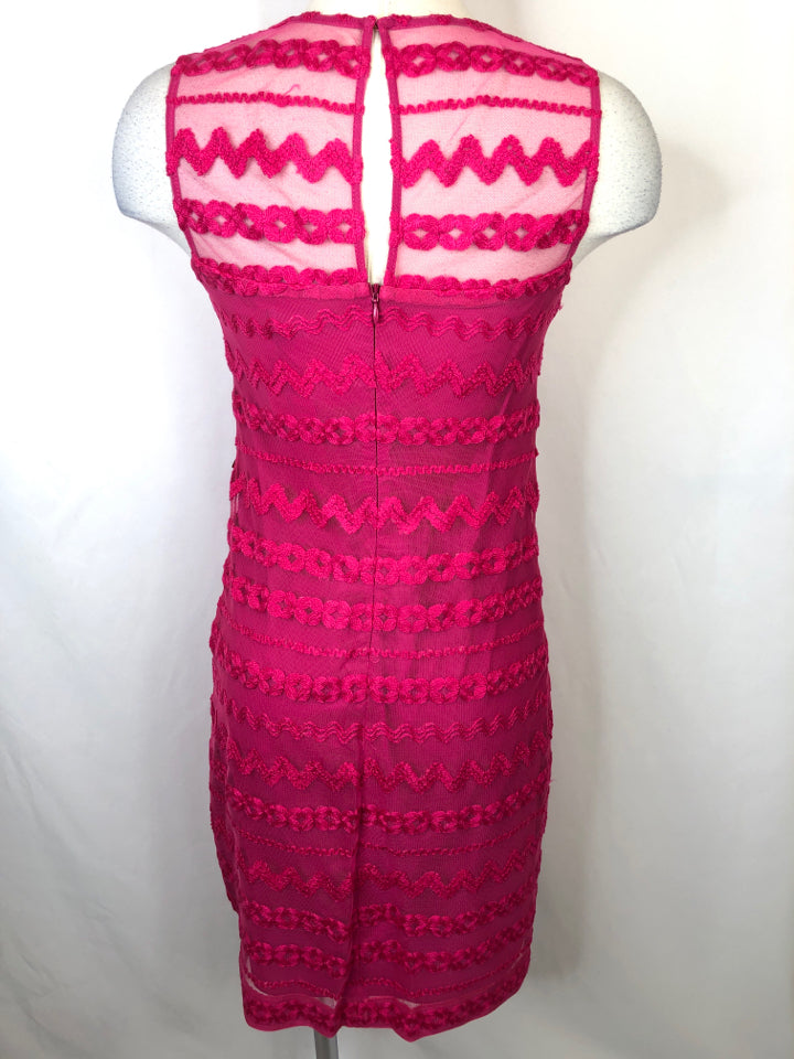 TRINA TURK Women Size XS Hot Pink Dress
