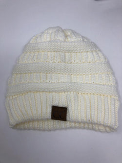 C.C EXCLUSIVES Women Size OSFA Ivory Hat - Urban Renewal Consignment
