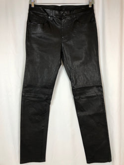 J BRAND Women Size 16/18 Black Pants