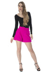 Tulle skirt doble vista satin