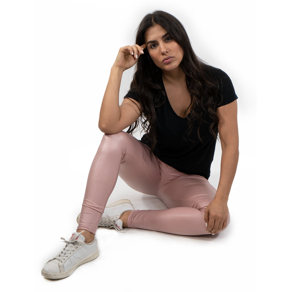 leggings vinipiel rosa
