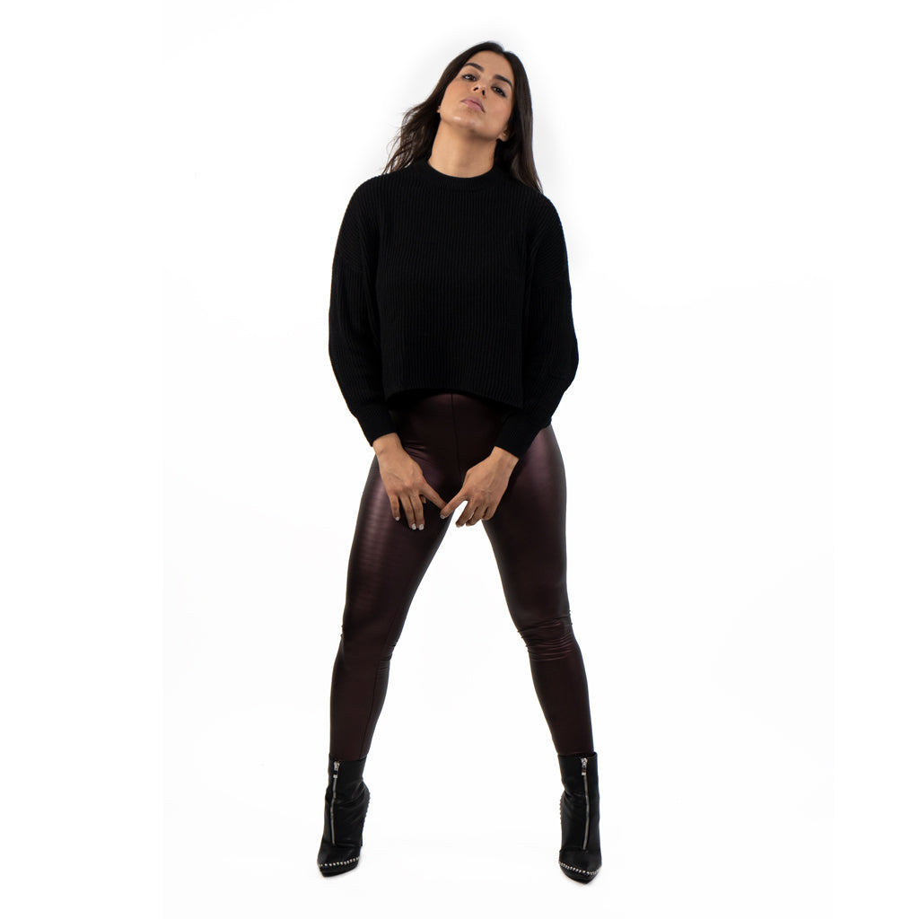 leggings vinipiel tinto