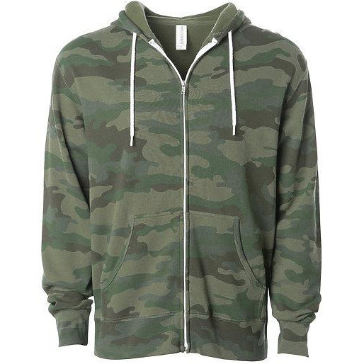 UNISEX CAMOUFLAGE ZIP HOODIE ~LIMITED TIME~