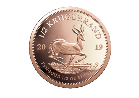 1/2oz Proof Krugerrand -- 2019 Gold Coin