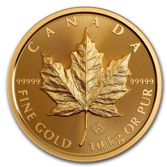 2020 Canadian 10 KG Gold Maple Leaf Coin