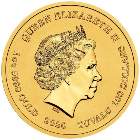 Homer Simpson 2020 1oz Gold Coin