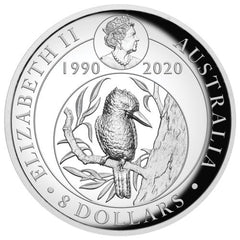 2020 Australian Kookaburra 5oz Proof High Relief Gilded Silver Coin