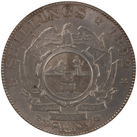 1892 MS61 5 Shillings Single Shaft NGC