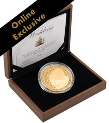 British Royal Wedding 5 oz Gold Coin
