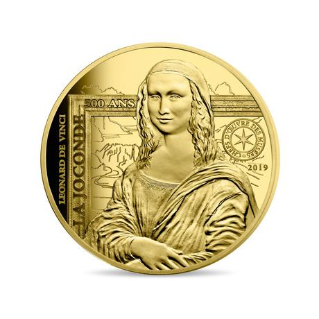 Mona Lisa 1/4oz Gold Coin