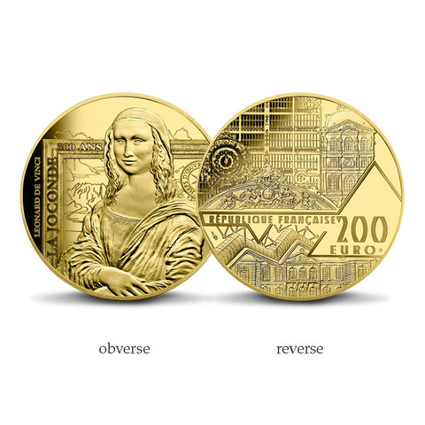 Mona Lisa 1oz Gold Coin