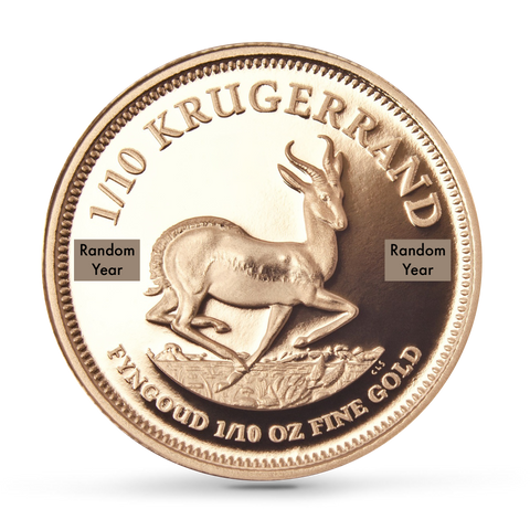 Buy 1/10 oz Krugerrand Proof Coins at Best Prices from The Scoin Shop