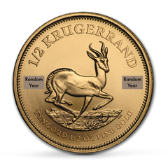 Buy 1/2 oz Krugerrand Bullion Coins at Best Prices | The Scoin Shop