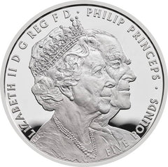 The Queen 70th Anniversary - 1/4 oz Platinum coin