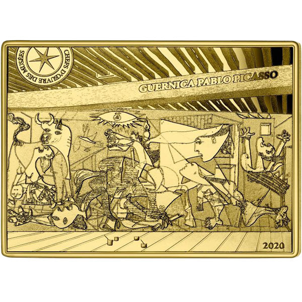 The Guernica - Picasso - 1/4oz Gold Proof Coin