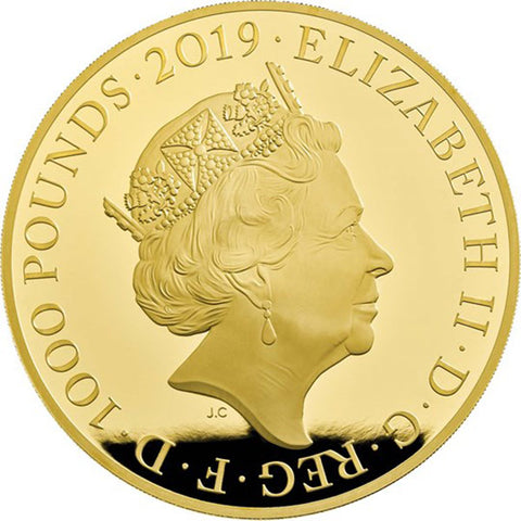 Queen Victoria 2019 UK - 1 kilo Gold Proof Coin