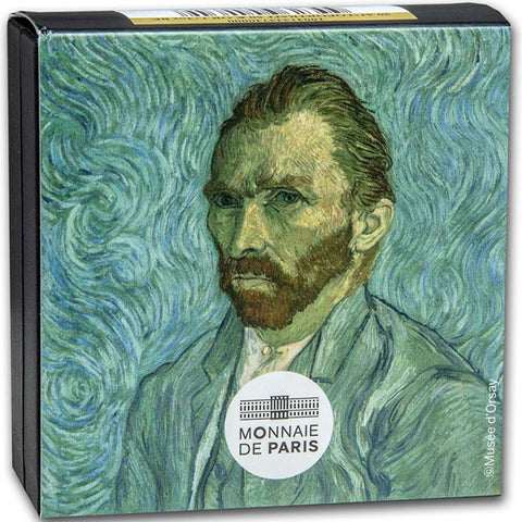 Self Portrat - Van Gogh - 1/4oz Gold Proof Coin