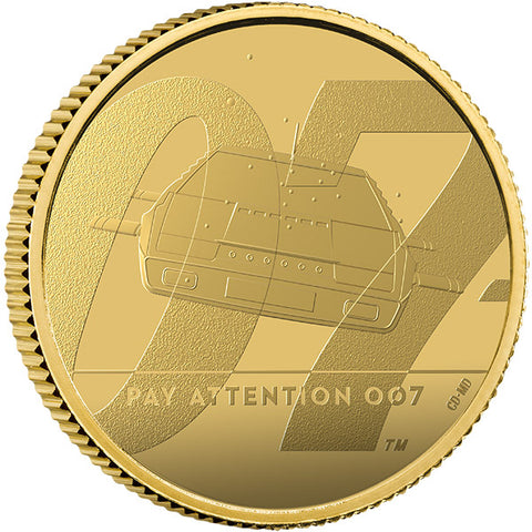 Pay Attention 007 - 1/4oz Gold Proof Coin 2020 (Series 2 of 3)