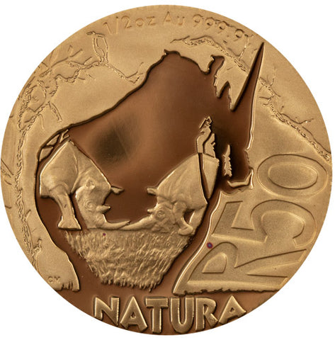 Natura Launch - Rhino EWT 3 Coin Set