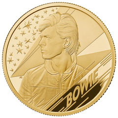 David Bowie 2020 UK Gold Proof Coin