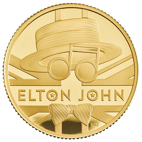 Elton John -- 1/4 oz 2020 Gold Proof Coin