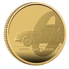 2020 James Bond 007 - 1/4oz Gold Coin (Series 1 of 3)