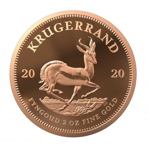 2020 2oz Proof Krugerrand