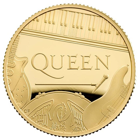Queen 2020 UK 1/4oz Gold Proof Coin