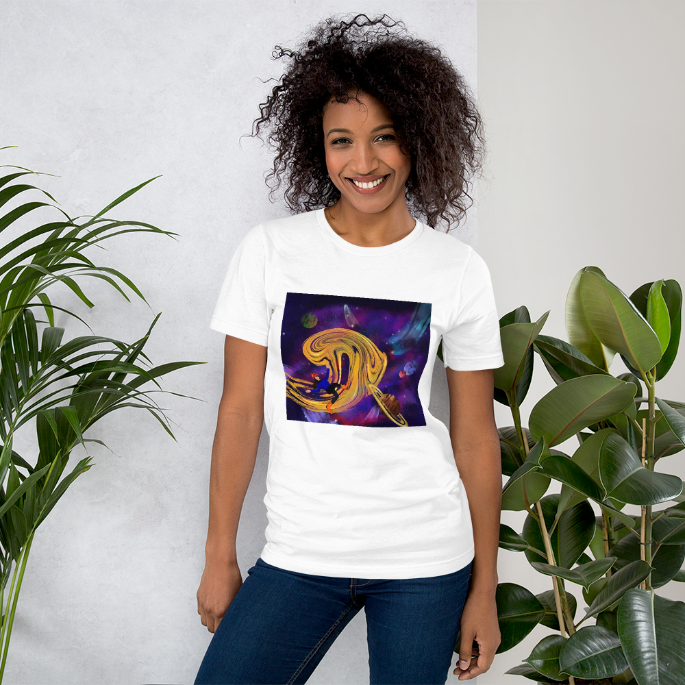 I NEED MY SPACE Short-Sleeve Unisex T-Shirt - Aanvi's Store