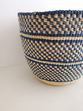 Planter Basket - Blue Patterned
