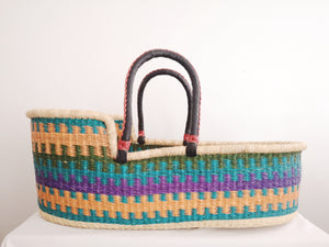 ANOPA Handwoven Baby Moses Basket
