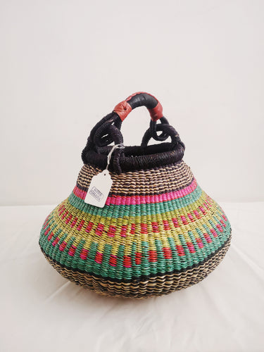Medium Bolga Pot Basket