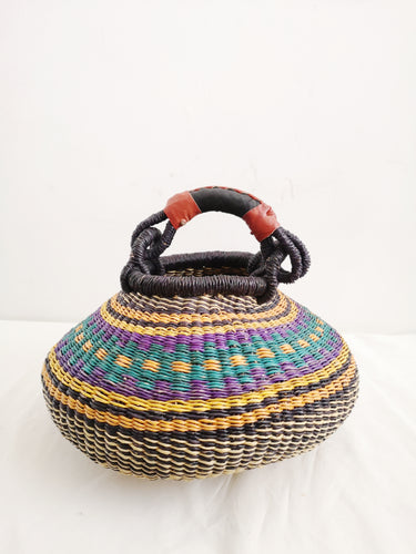 Small Bolga Pot Basket
