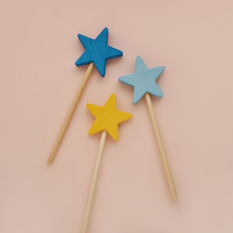 Magic Star Wand - Yellow