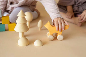 Handmade Wooden Tree Set - Natural
