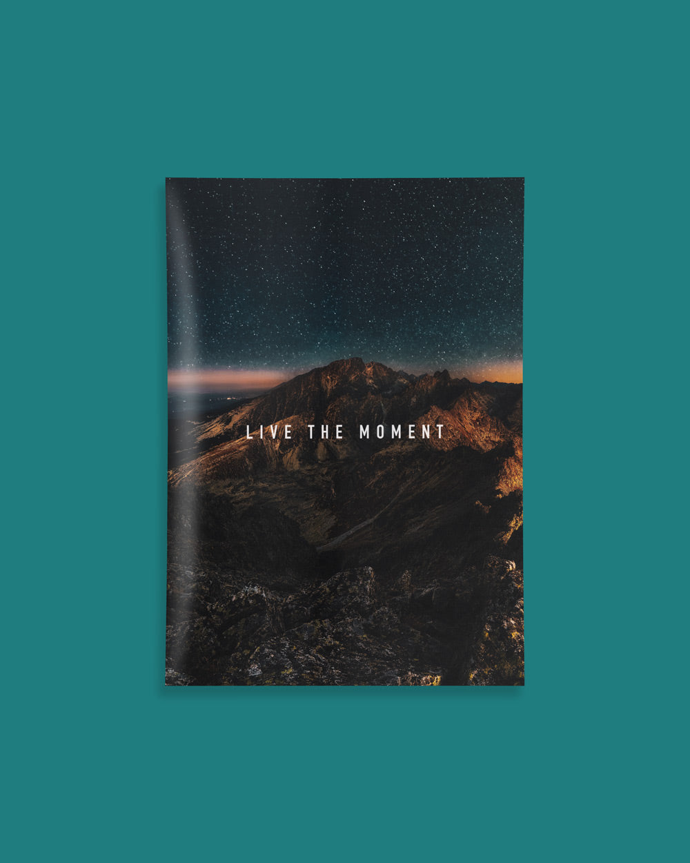 Live The Moment Poster - HoodieCollab