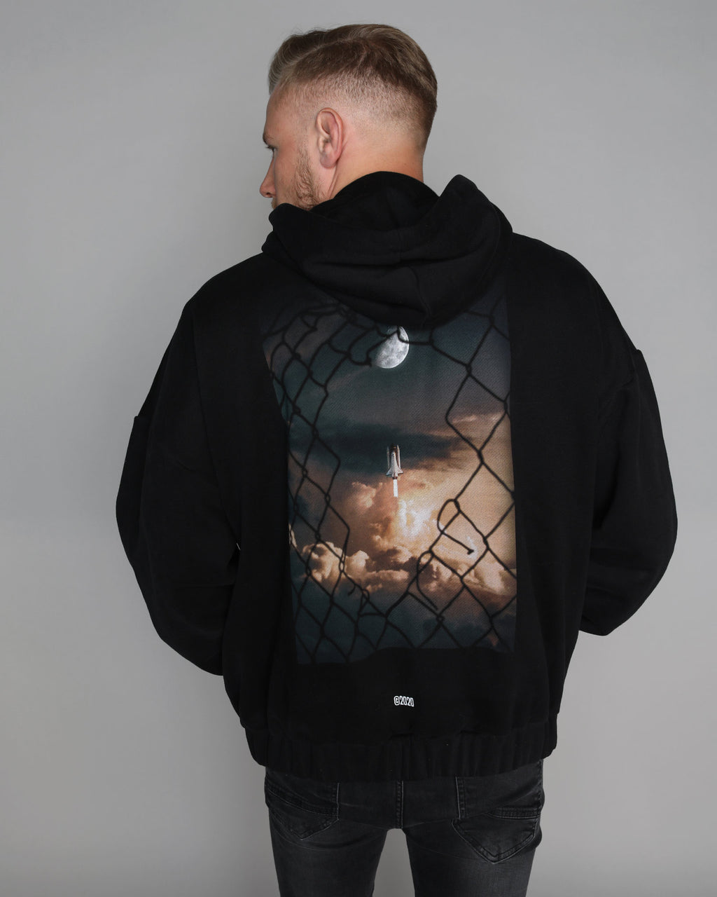 To The Moon Zip-Hoodie - HoodieCollab
