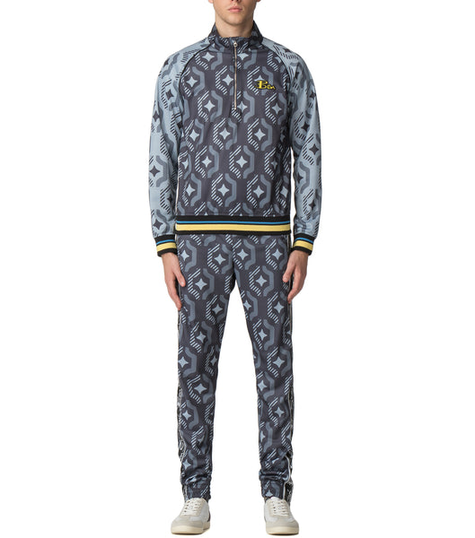 House of Holland X Ben Sherman Geo Wallpaper Print Track Pant