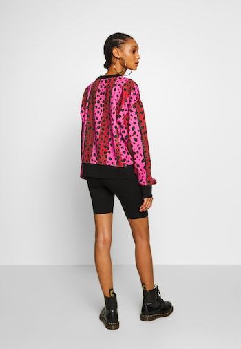 Neon Stripe Cheetah Sweatshirt