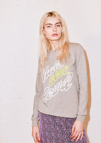 Grey Nude And Lewd Sweatshirt