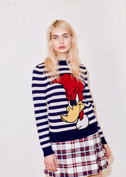 Striped Woody Woodpecker Jumper