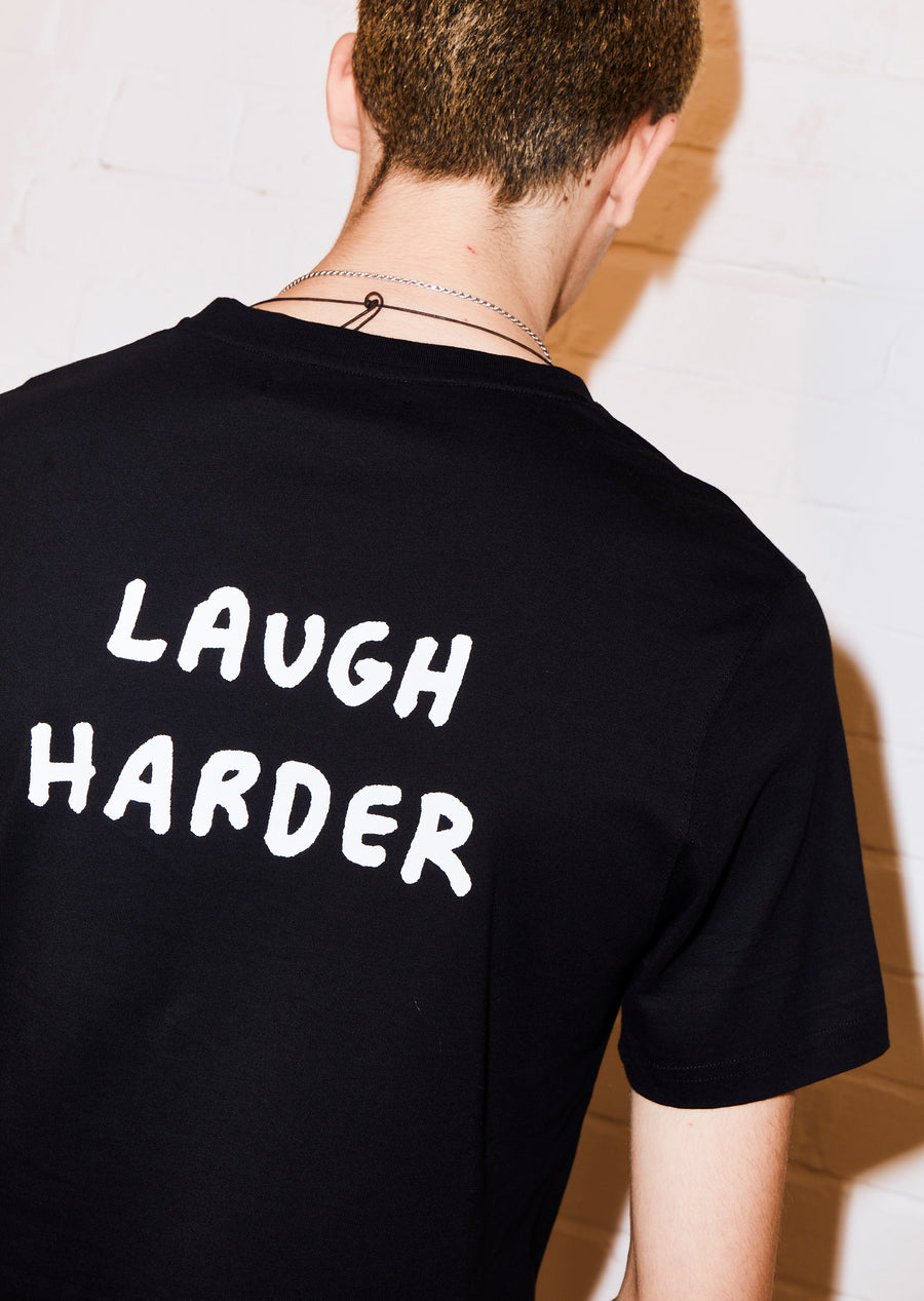 @amberibarreche 'Cry Hard Laugh Harder' tee