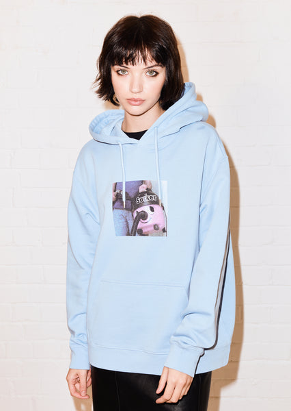 @hey_reilly 'Sucker' Blue Hoodie