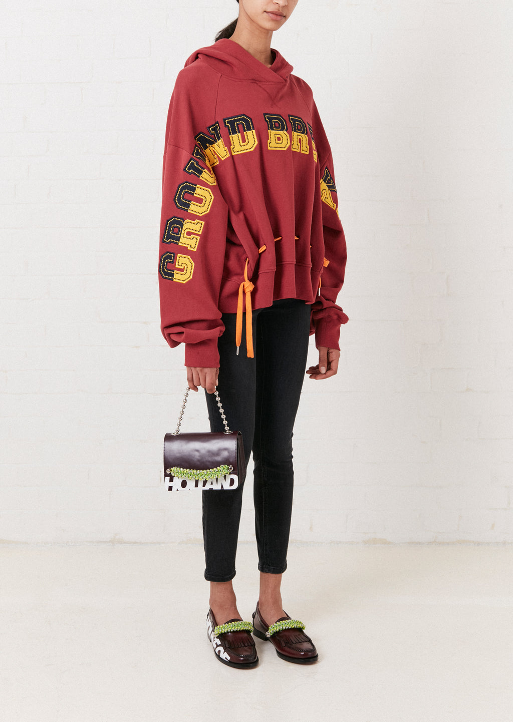 Ground Breaking Oversized 2-Way Hoodie By House of Holland