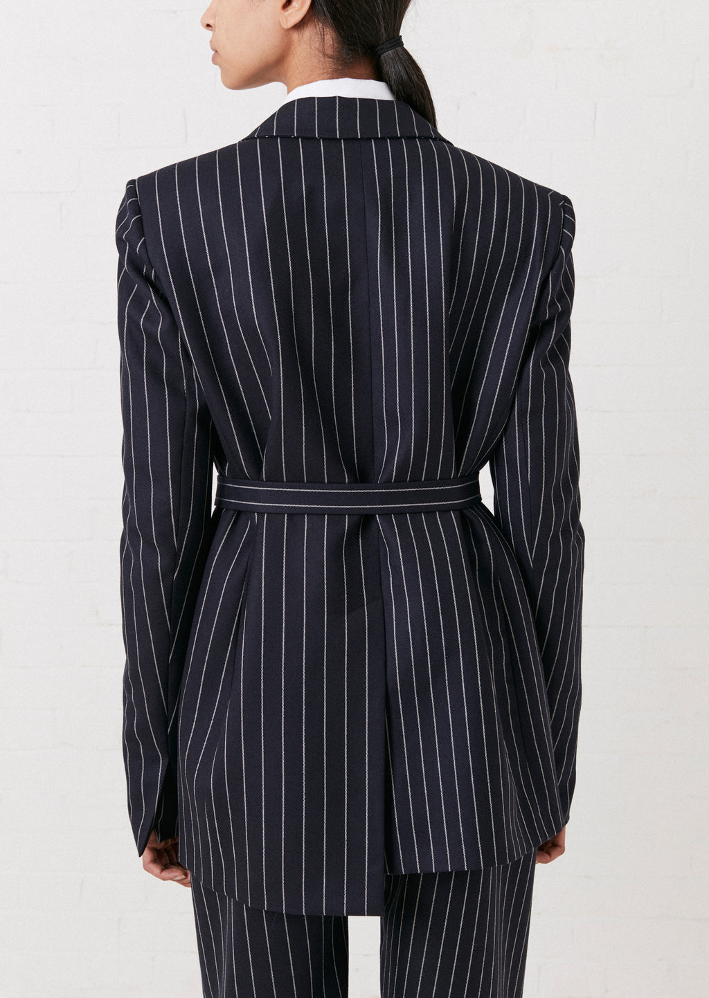 Pinstripe Tailored Wool Jacket by House of Holland