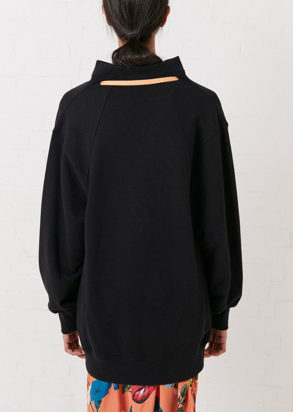 Cassette Oversized 2-Way Sweatshirt By House of Holland