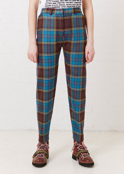 Tartan Tailored Trouser