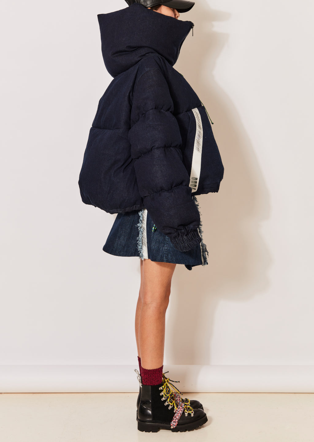 Denim Puffa Jacket by House of Holland